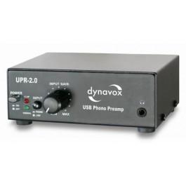 UPR-2.0 USB-Phono Preamplifier Black