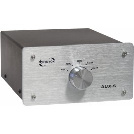 AUX-S Switcher Silver
