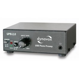 UPR-2.0 USB-Phono Preamplifier Black