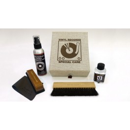 Σετ Καθαρισμού Δίσκων Cleaning Boxset Deluxe Black Faulty Leather