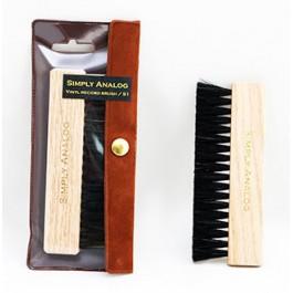 Βουρτσάκι Καθαρισμού Δίσκων Brown Oak Wooden Brush