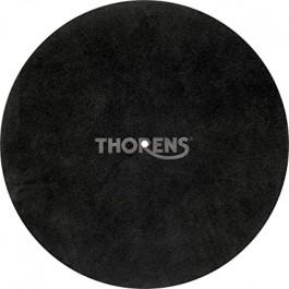 Thorens Κάλυμμα Πλατό Δέρμα Suede Μαύρο