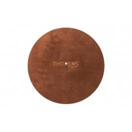 Thorens Κάλυμμα Πλατό Δέρμα Suede Καφέ