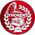 Thorens Κάλυμμα Πλατό Ματ Logo Red