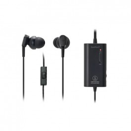 Audio Technica ATH-ANC33iS Active Noise-Cancelling In-Ear