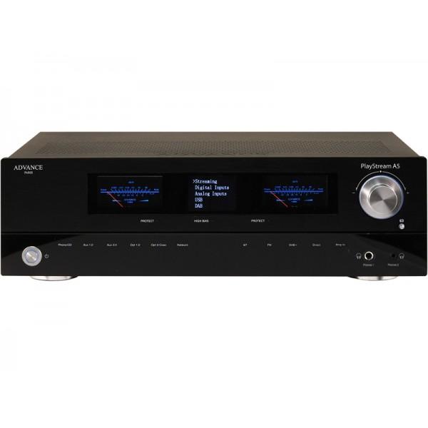 Advance Acoustics Ολοκληρωμένος Ενισχυτής PlayStream A5 (+ X-FTB01 bluetooth adapter) Black
