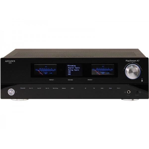 Advance Acoustics Ολοκληρωμένος Ενισχυτής PlayStream A7 (+ X-FTB01 bluetooth adapter) Black