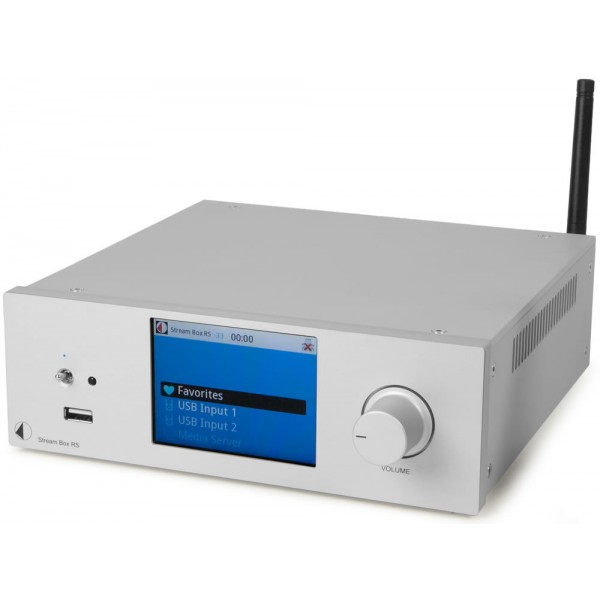 Pro-Ject Δικτυακός Δέκτης Stream Box RS Silver