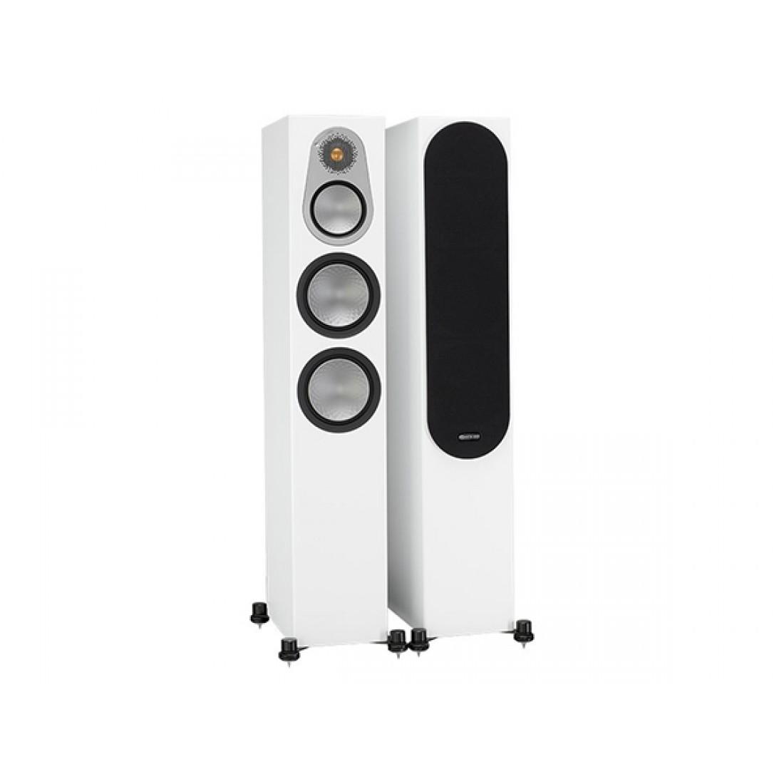 Monitor Audio Silver 300 Floorstand Speakers Satin White