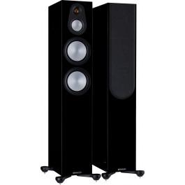 Monitor Audio Ηχείο Δαπέδου Silver 300 7G High Gloss Black