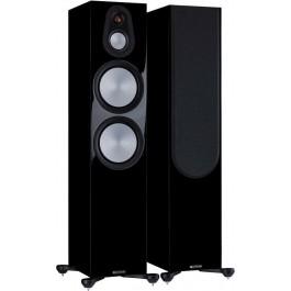 Monitor Audio Ηχείο Δαπέδου Silver 500 7G High Gloss Black