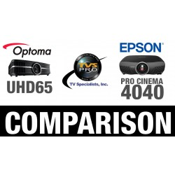 Epson Pro Cinema 4040 vs Optoma UHD65 4K