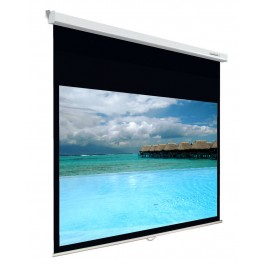 Lumene Plazza2 240C 16/9 Manual Screen