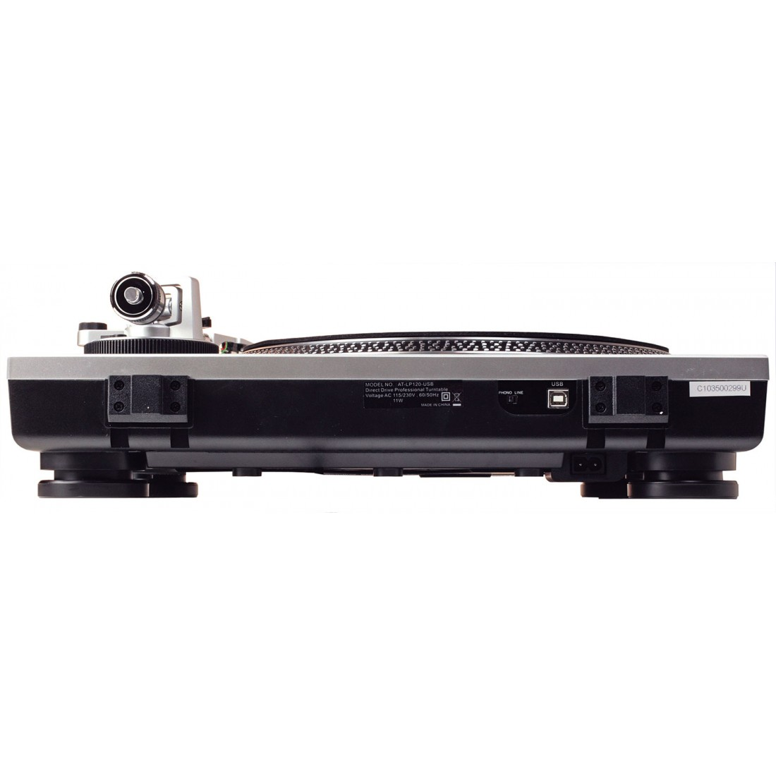 audio technica at lp120x hs6 usb turntable black. Black Bedroom Furniture Sets. Home Design Ideas
