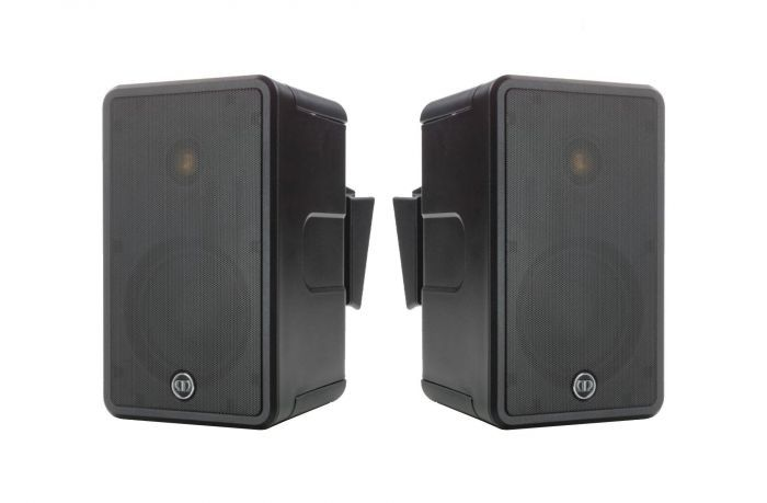 Core C165, front-on, grille-less in-ceiling speakers.